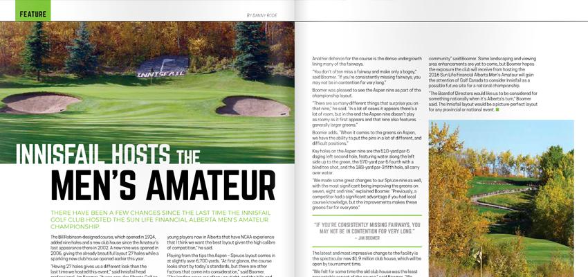 Alberta Golfer Magazine
