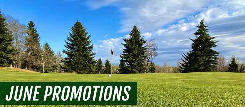 June Green Fee Promotions - Innisfail Golf Club