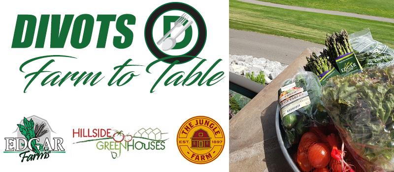 Farm to Table Special - Divots Restaurant - Innisfail Golf Club - Alberta