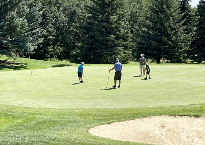 2020 Parent-Junior Scramble - Innisfail Golf Club - Innisfail, Alberta