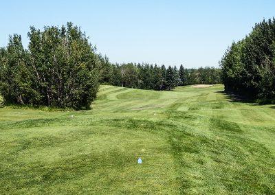 Innisfail Golf Club - Course Layout - Aspen 1