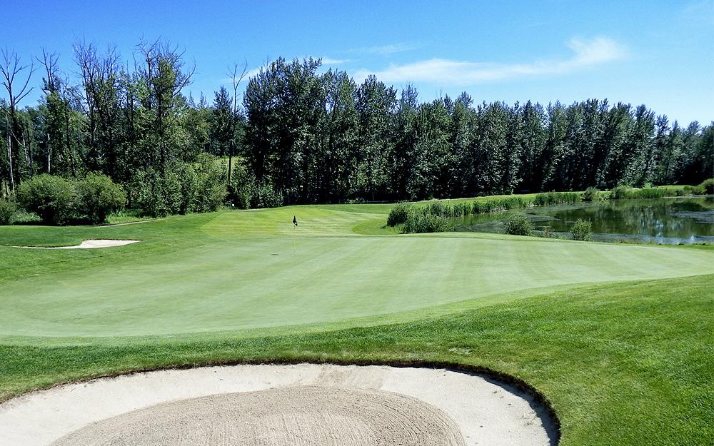 Innisfail Golf Club - Course Layout - Aspen 5