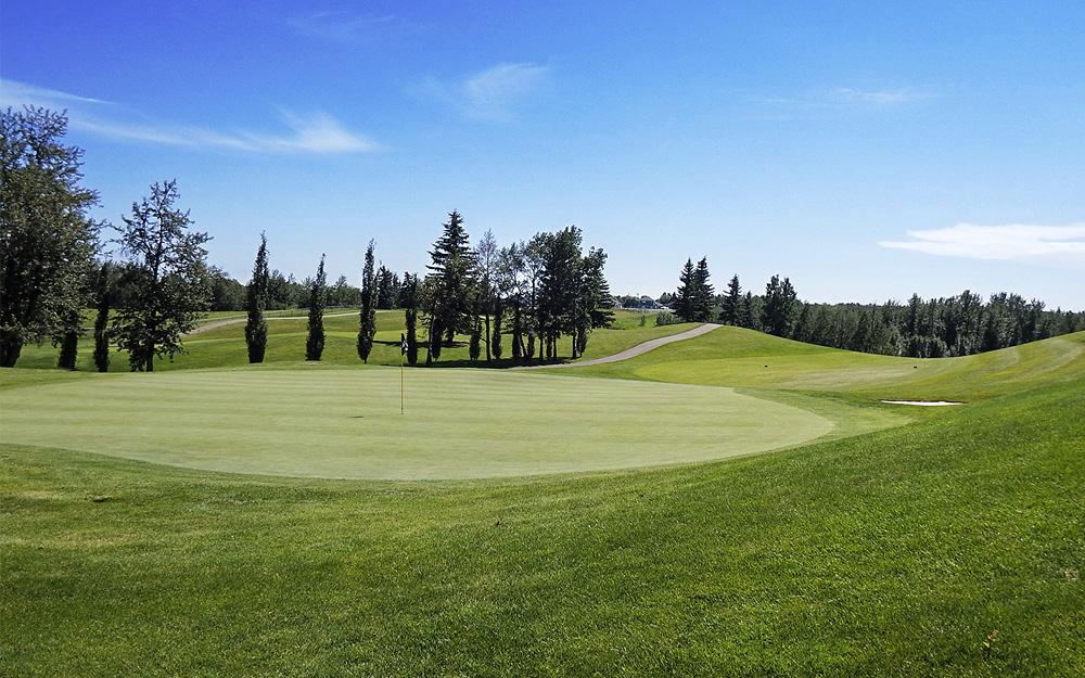 Innisfail Golf Club - Course Layout - Aspen 6