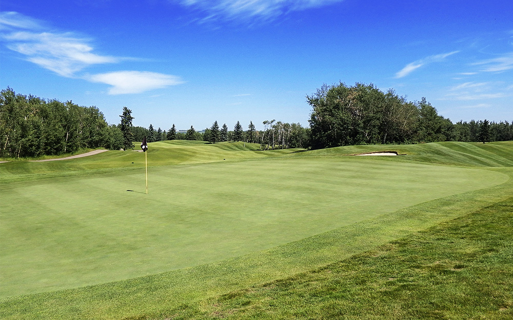 Innisfail Golf Club - Course Layout - Aspen 8