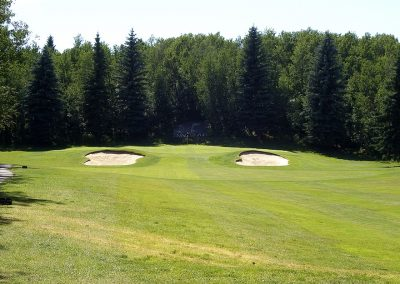 Innisfail Golf Club - Course Layout - Aspen 9