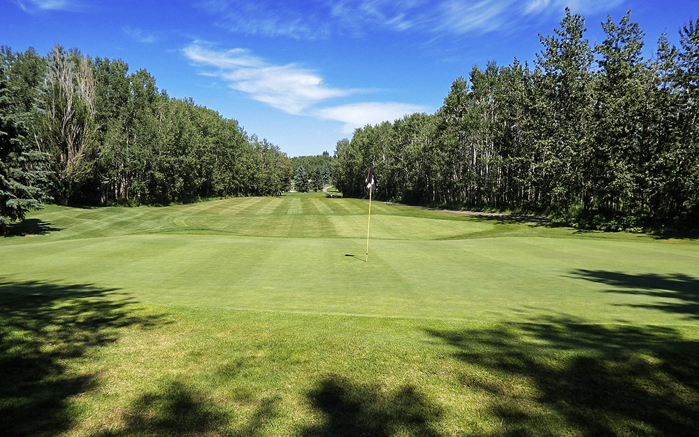 Innisfail Golf Club - Course Layout - Aspen 9