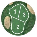 Innisfail Golf Club - Course Layout - Hazelwood 1