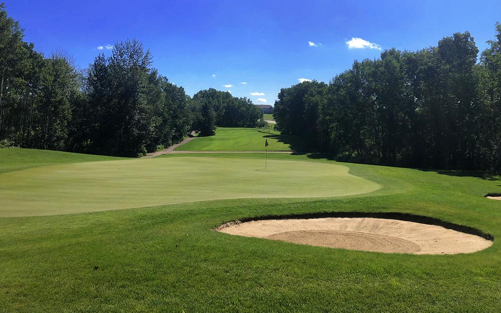 Innisfail Golf Club - Course Layout - Hazelwood 8