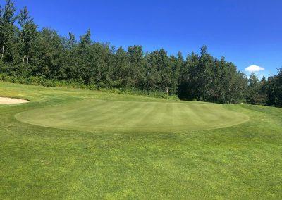 Innisfail Golf Club - Course Layout - Hazelwood 9