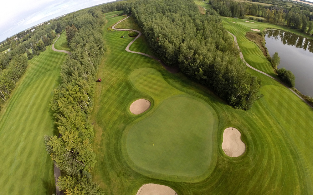 Innisfail Golf Club - Homepage - Course Layout Image - Innisfail, Alberta