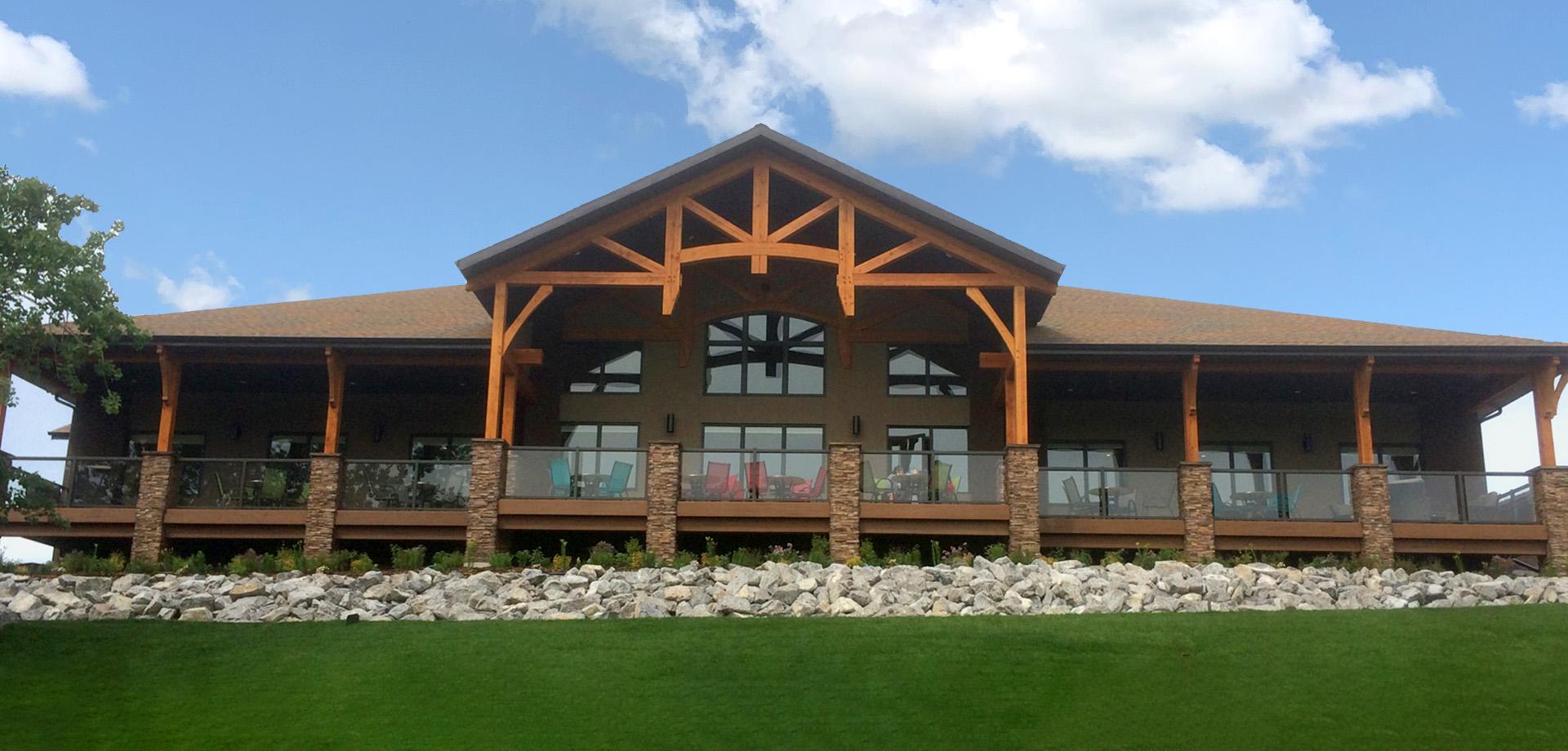 Innisfail Golf Club - Divots - Clubhouse - Header Image - Innisfail, Alberta