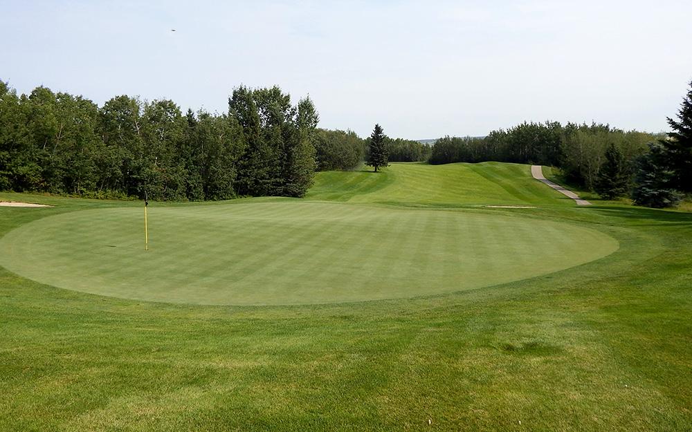Innisfail Golf Club - Course Layout - Spruce 3