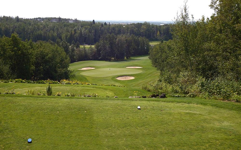 Innisfail Golf Club - Course Layout - Spruce 4