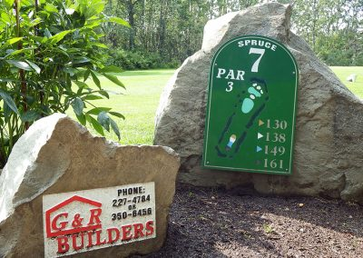 Innisfail Golf Club - Course Layout - Spruce 7