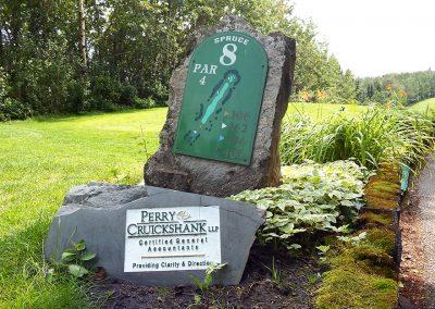 Innisfail Golf Club - Course Layout - Spruce 8