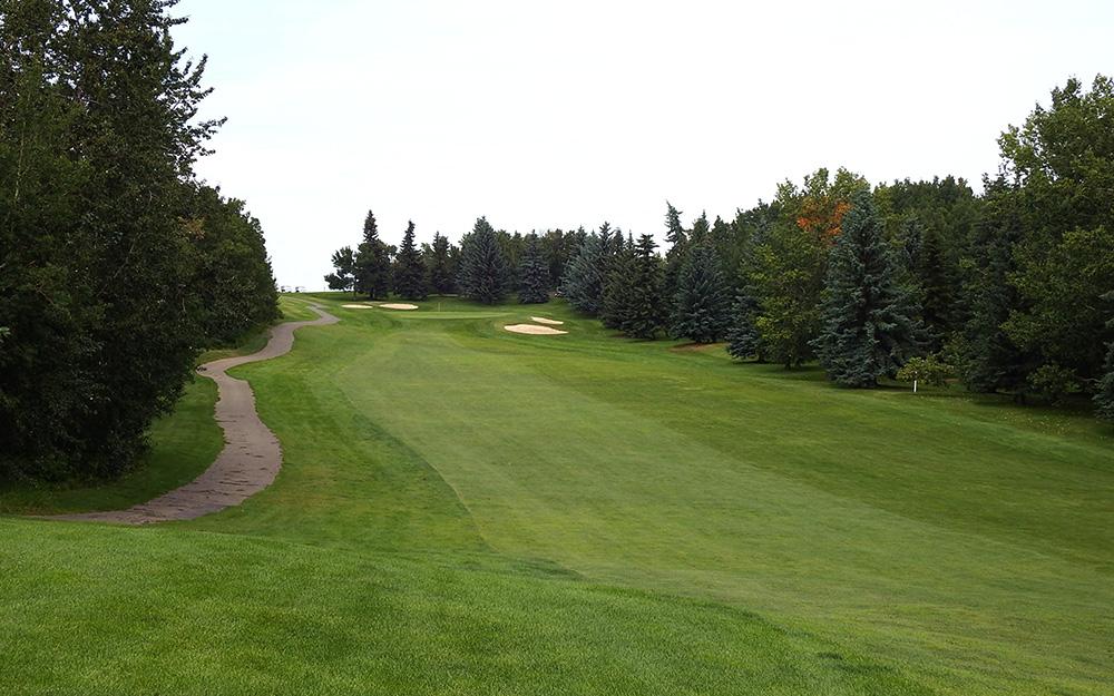 Innisfail Golf Club - Course Layout - Spruce 9