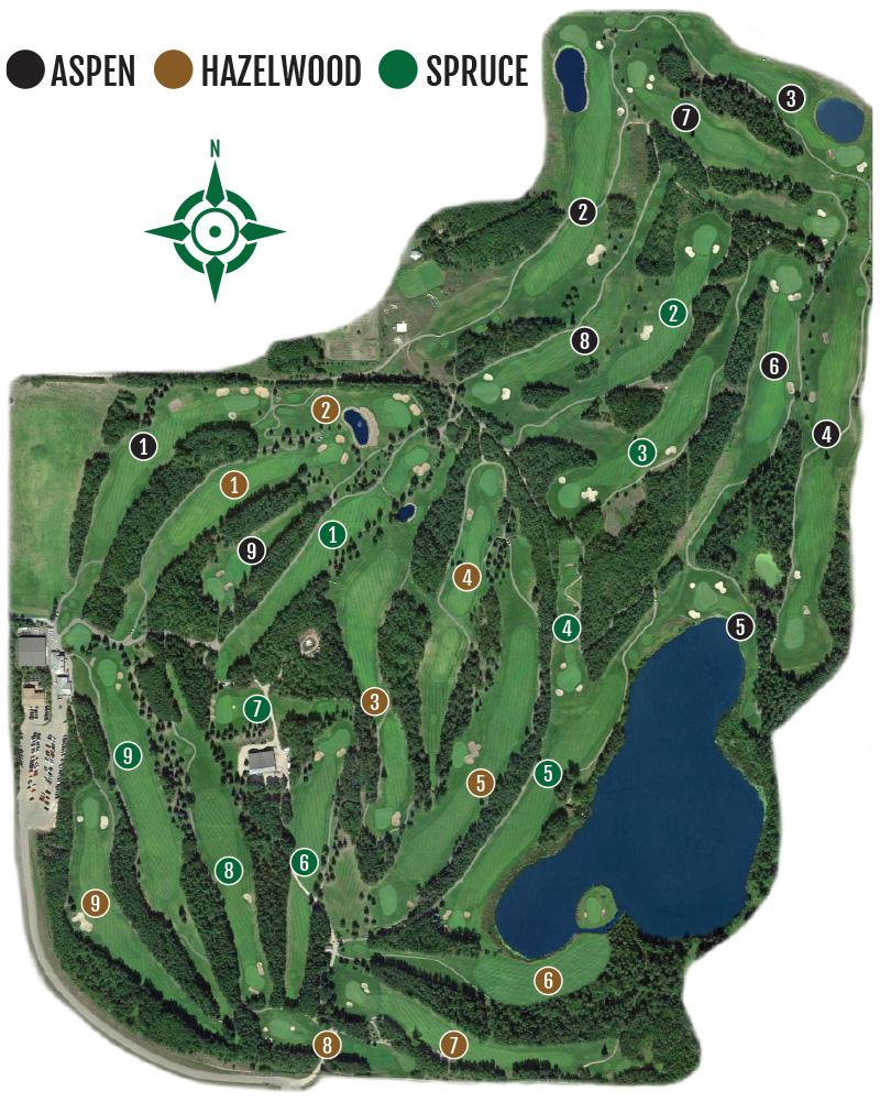 Innisfail Golf Club - Course Map - Innisfail Golf Club, Innisfail, Alberta