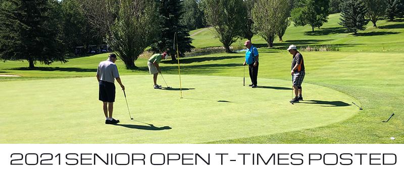 Senior Open Tee Times - 2021 Golf Tournaments - IGC